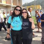 Solange Maria C. de Souza Menzel (Supervisora da Secretaria Municipal de Esportes, Lazer e Recreação de São Paulo) e Evangelina Vormittag (Diretora Presidente do Instituto Saúde e Sustentabilidade)