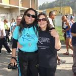 Solange Maria C. de Souza Menzel (Supervisora da Secretaria Municipal de Esportes, Lazer e Recreação de São Paulo) e Evangelina Vormittag (diretora do Instituto Saúde e Sustentabilidade)
