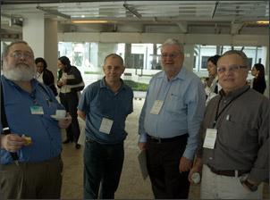 Dr. Gonzalo Vecina Neto, Dr. Hélio Neves, Dr. Gilberto Natalini e Dr. Flavio Vormittag