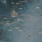 Inpe registrou nuvem de fumaça em Manaus