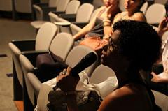 Participante do debate do filme Muito Além do Peso