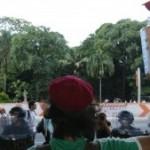 Manifestação sobre a crise hídrica. Foto: Estadão