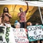 O rapper Criolo na Virada Ocupação. Foto: Bruno Santos / Folhapress
